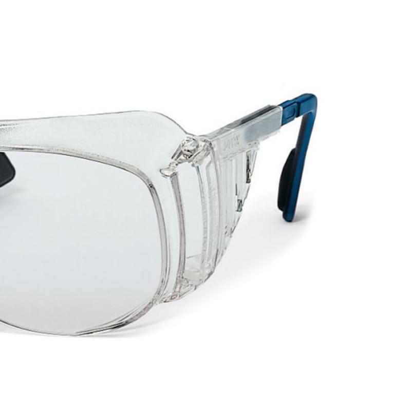 Schutzbrille mit Seitenschutz und längenverstellbaren duo-flex Bügeln