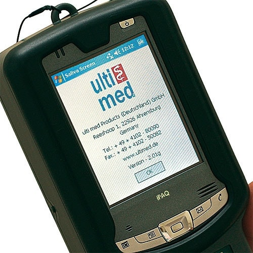 """Saliva Screen Handheld"", Drug Test Reader"