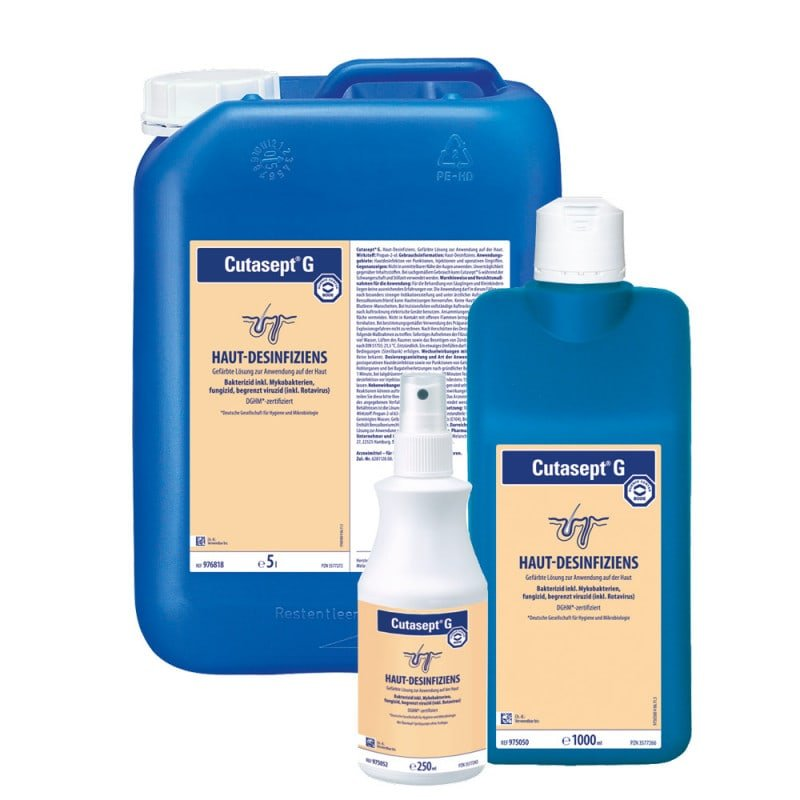 Cutasept G, Pre- and Post-operative Skin Disinfectant