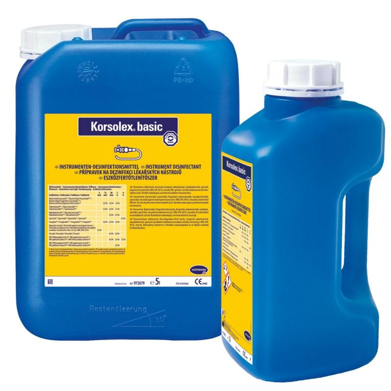 Korsolex® basic dezynfekcja narzędzi