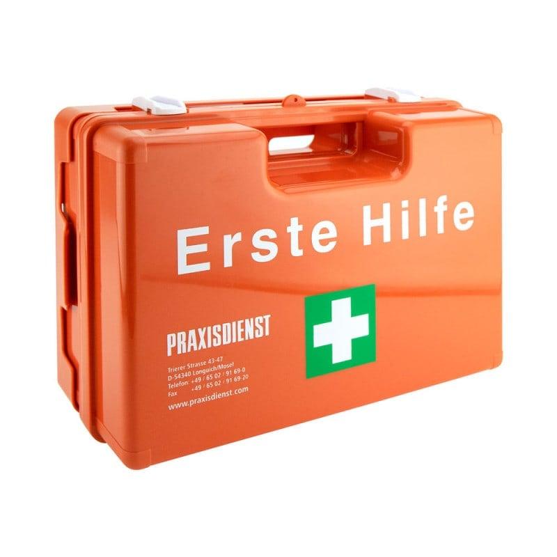Erste-Hilfe-Koffer mit aus schlagfestem ABS-Kunststoff
