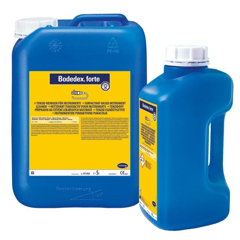 Bodedex forte ist frei von Farbstoffen und Parfüm