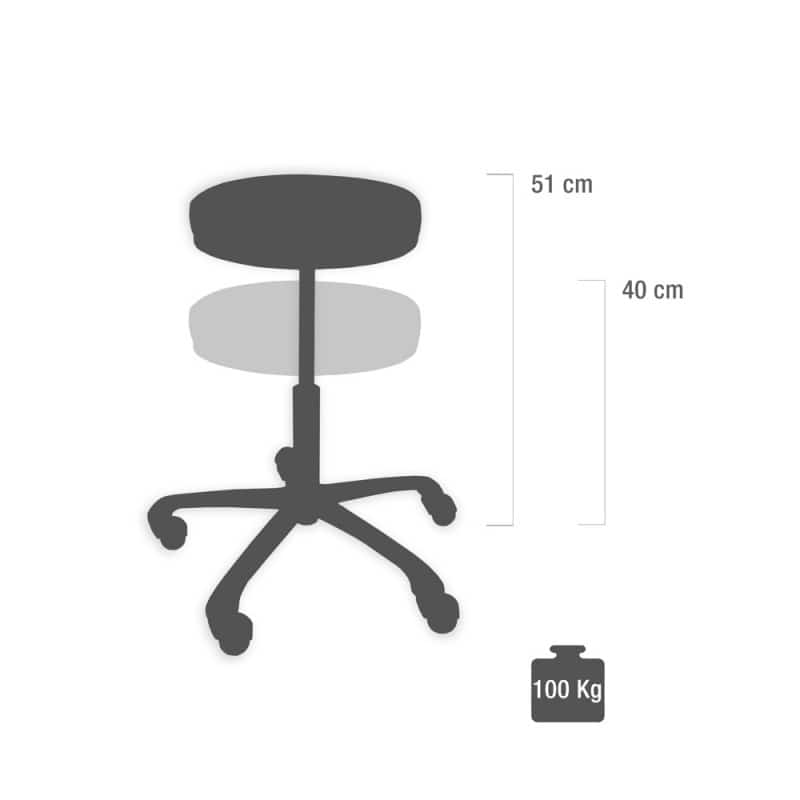 Ergonomic Saddle Seat Stool