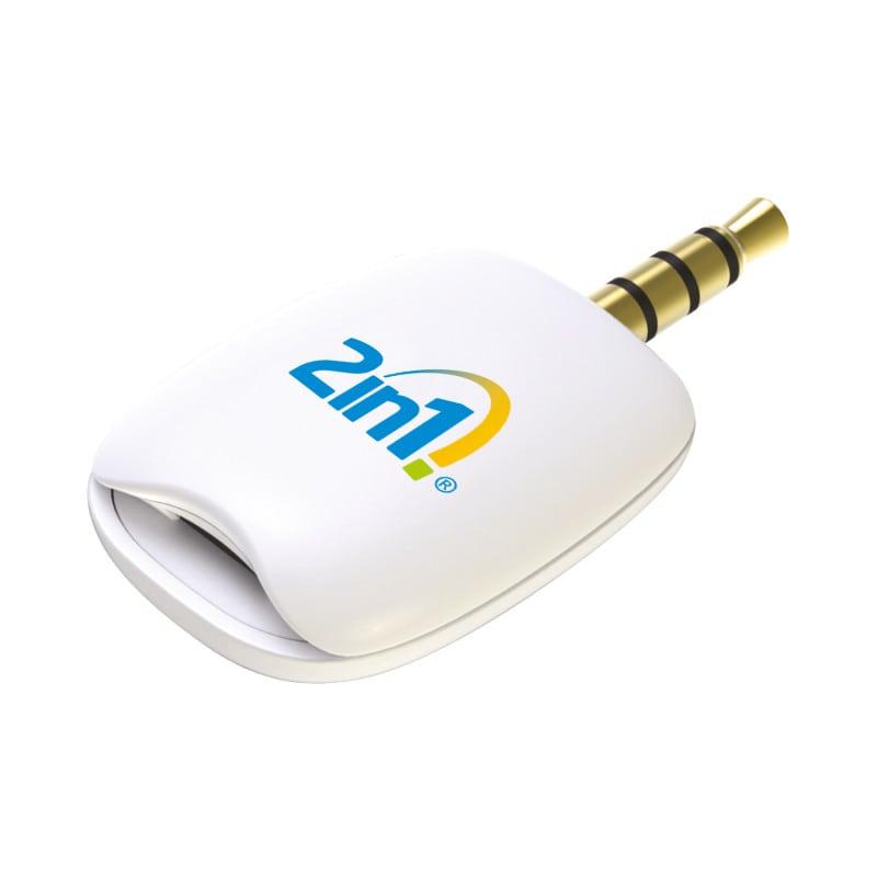 Der Anschluss des Messgeräts erfolgt am Kopfhörer-Anschluss des Handys/Tablets