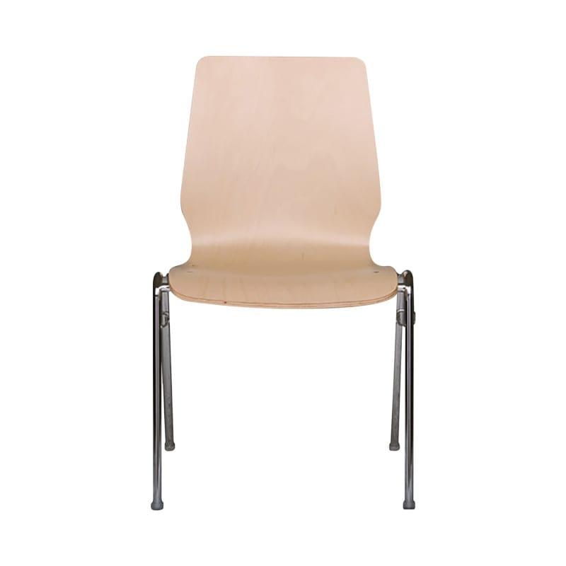 Sitzschale aus 10 mm dickem, verleimtem Buchenholz bis 120 kg belastbar