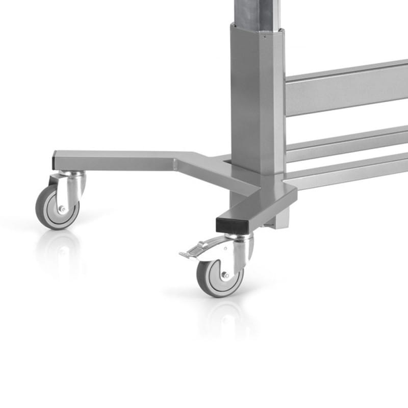 Mobile Frame for Echocardiography Tables