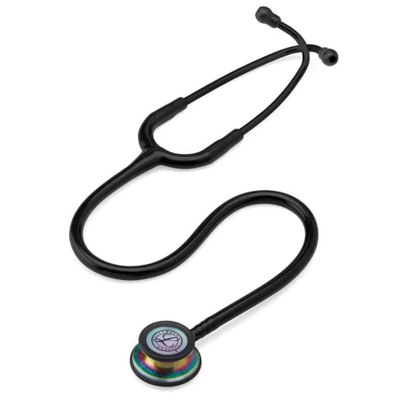 Stethoskop mit einteiliger, austauschbarer Dual-Frequency-Membran