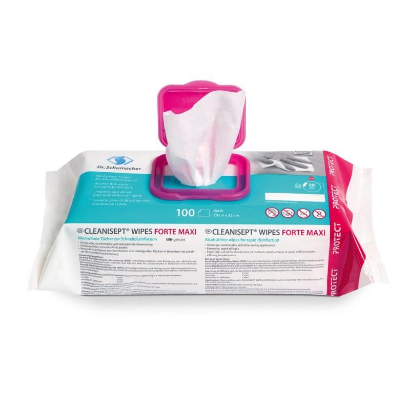 Desinfektionstücher zur sporiziden und viruziden Flächendesinfektion
