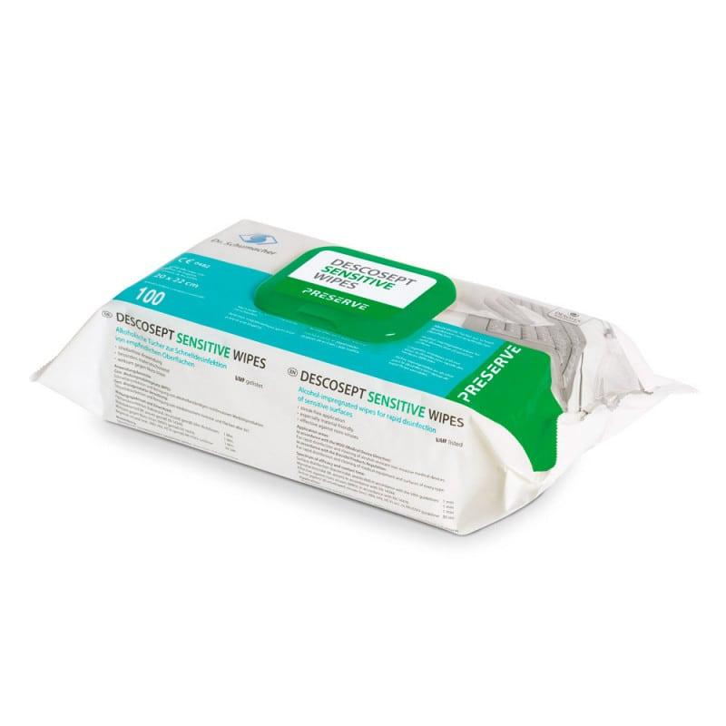 Besonders materialschonend und somit zur Schnelldesinfektion empfindlicher Oberflächen geeignet