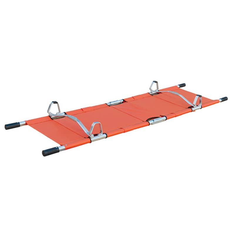4 feet allow the stretcher to independently stand