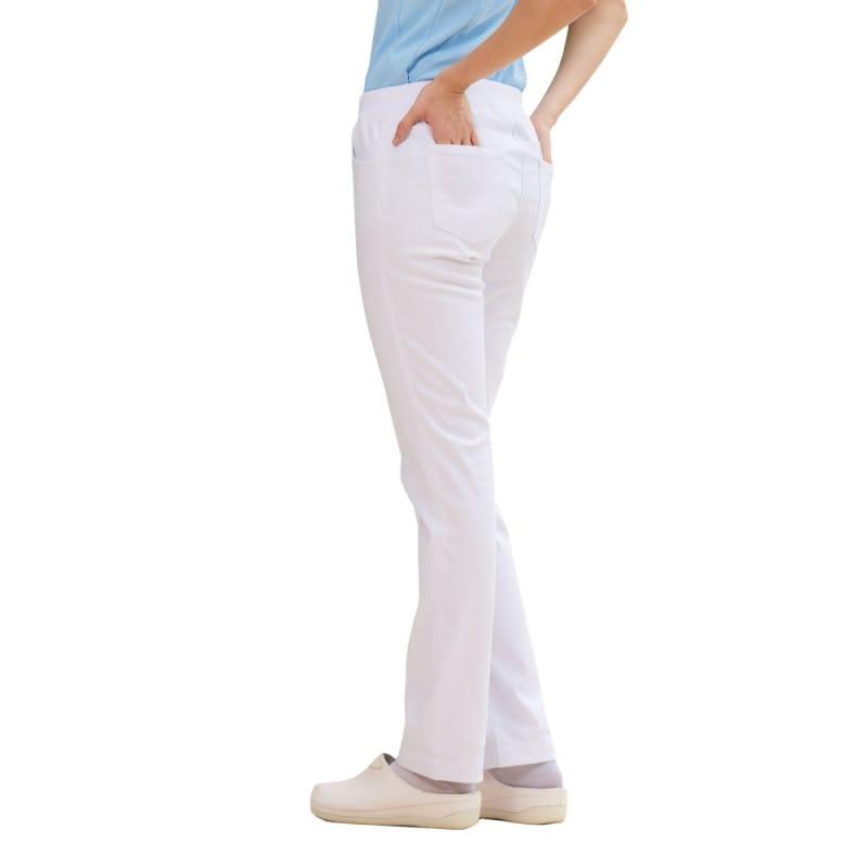 Die Berufshose kann durch einen verstellbaren Hosensaum in der Länge variiert werden