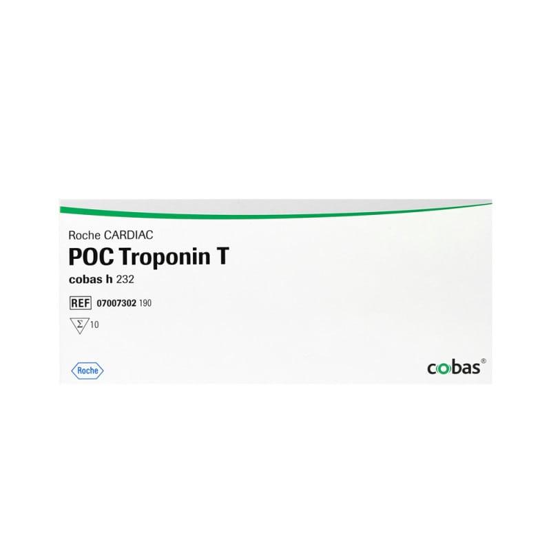 Trop T Teststreifen mit erweitertem Messbereich (40 - 2000ng/l)