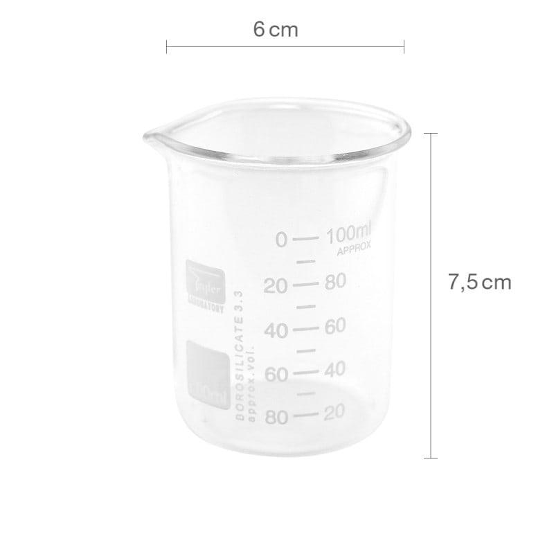 100 ml Becherglas, niedrige Form