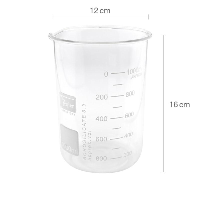 1000 ml Becherglas, niedrige Form
