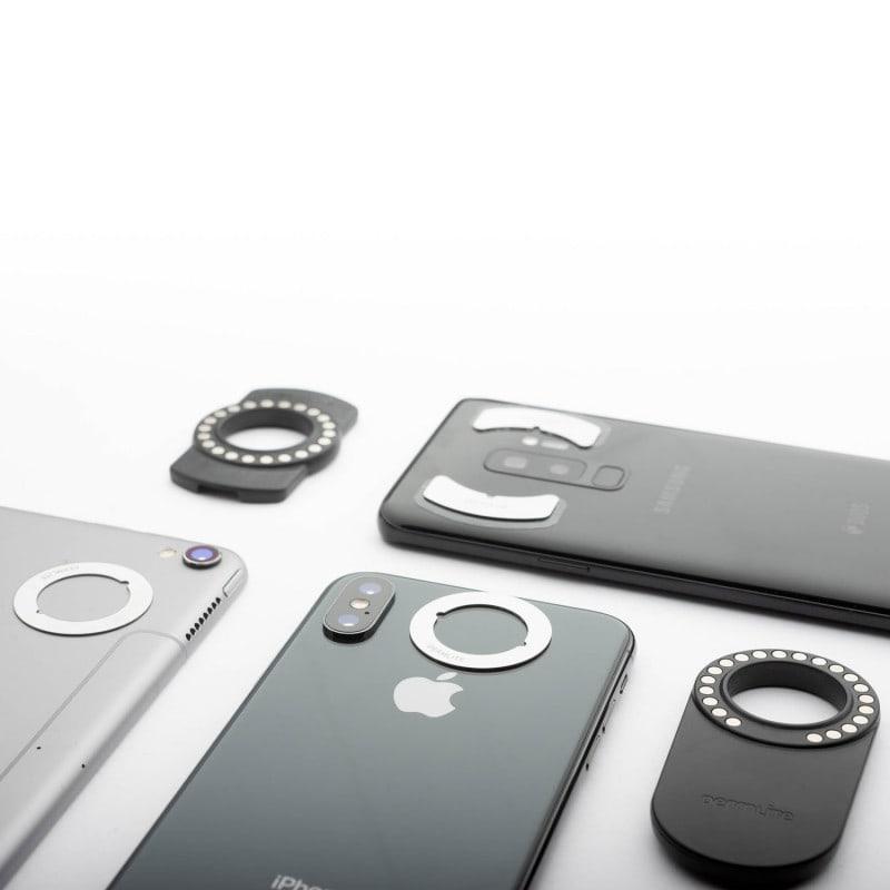 Enthält die passende Befestigung für verschiedenste Smartphone-Modelle