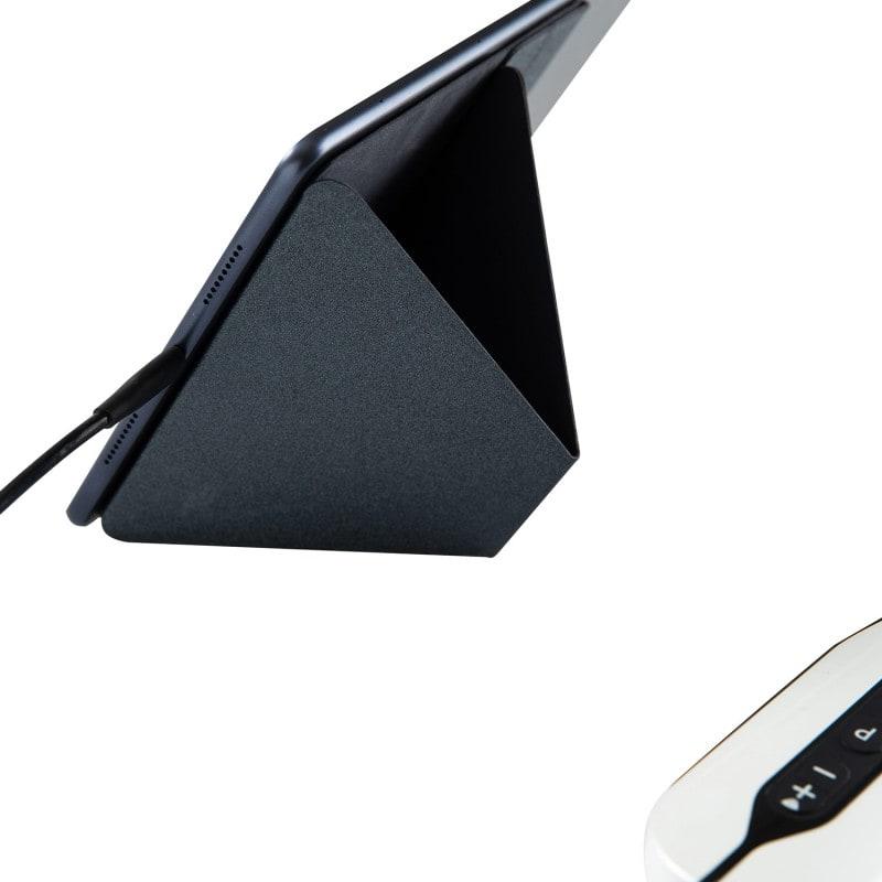 Ermöglicht einen sicheren Stand des Tablets während der Ultraschalluntersuchung