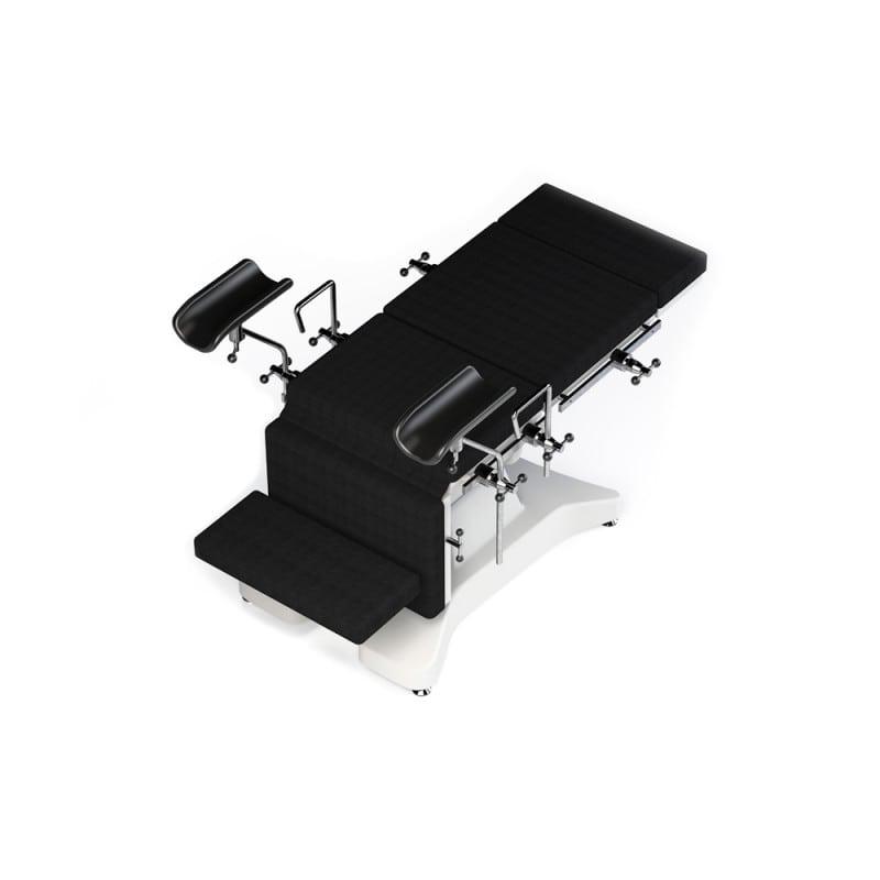 3-teilig: Rückenlehne, Sitzfläche und Beinauflage unabhängig voneinander verstellbar