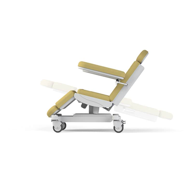 With electronically adjustable backrest and seat