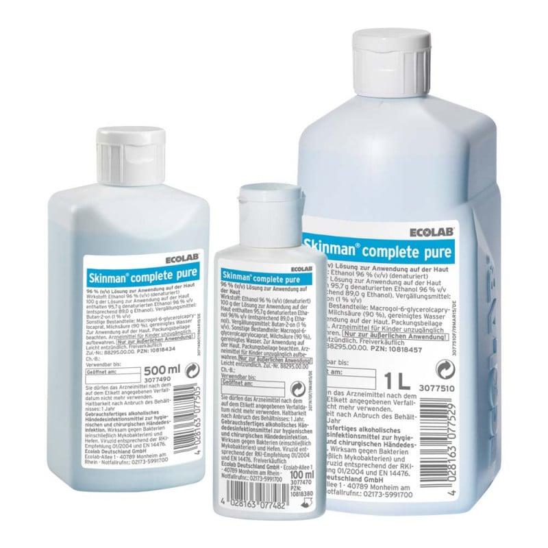 Desinfectante disponible en diferentes tamaños: desde 100 ml hasta 1 litro
