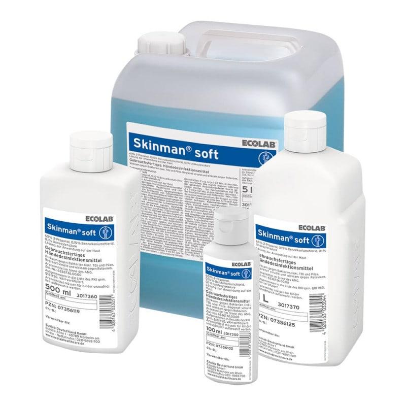 Disponible en diferentes tamaños: desde 100 ml hasta bidones de 5 litros