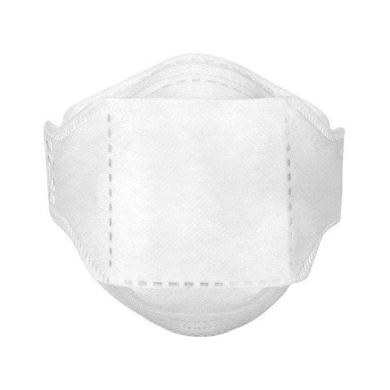 Half mask with high filter performance and low breathing resistance