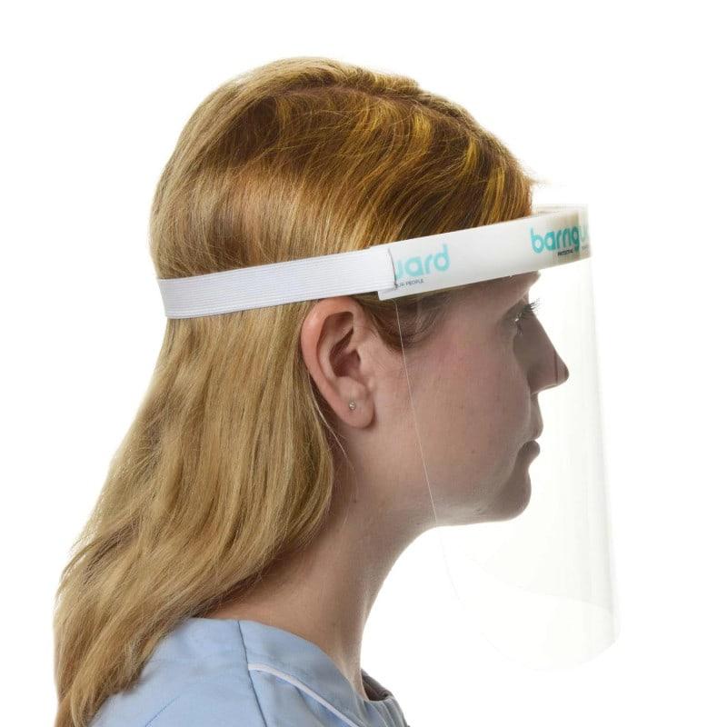 Das Elastikband ist etwas weiter bemessen und eignet sich auch für Personen mit größerem Kopfumfang