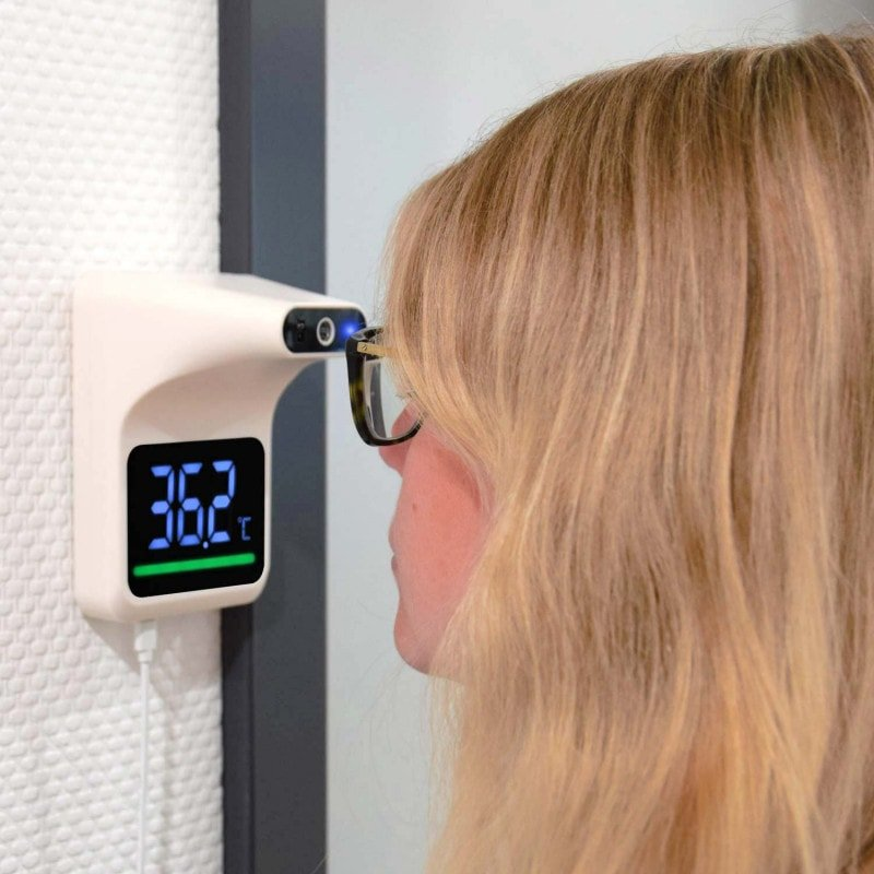Ideal for daily temperature measurement in office spaces, schools and public facilities
