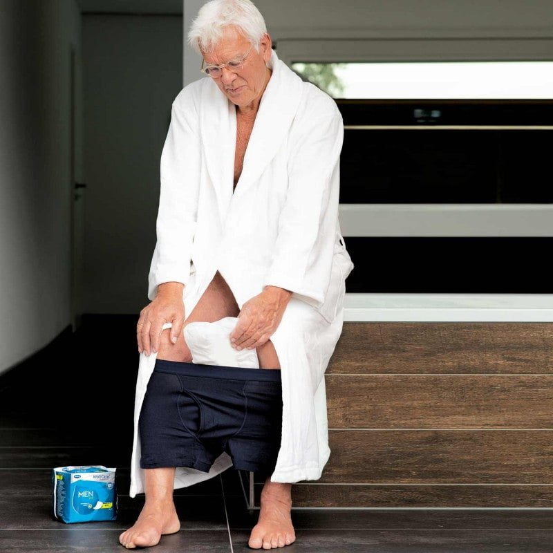 Special fit for safe and discreet protection in case of incontinence