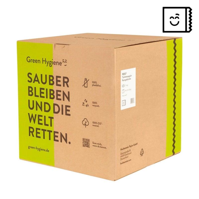 Volledig plasticvrij verpakt in kartonnen dozen, gesealed met papieren tape