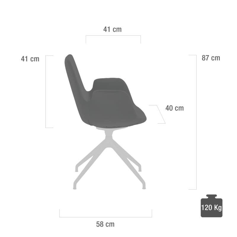 Dimensiones de la silla de la sala de espera y capacidad de carga