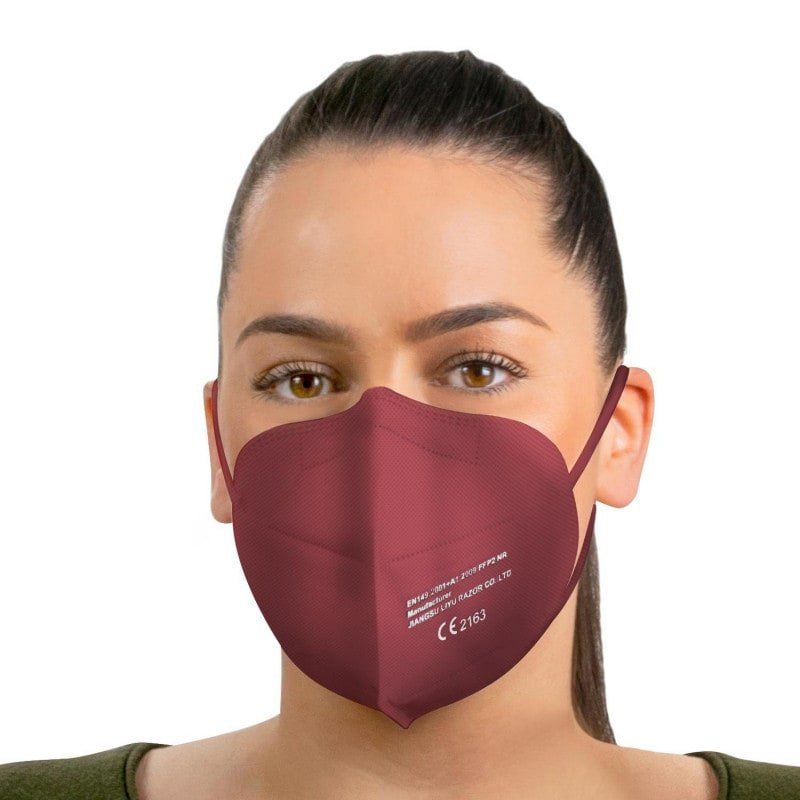 Made of skin-friendly material. With noseclip and elastic straps for high wearing comfort