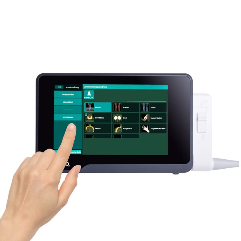 With a high-resolution and intuitive touch screen