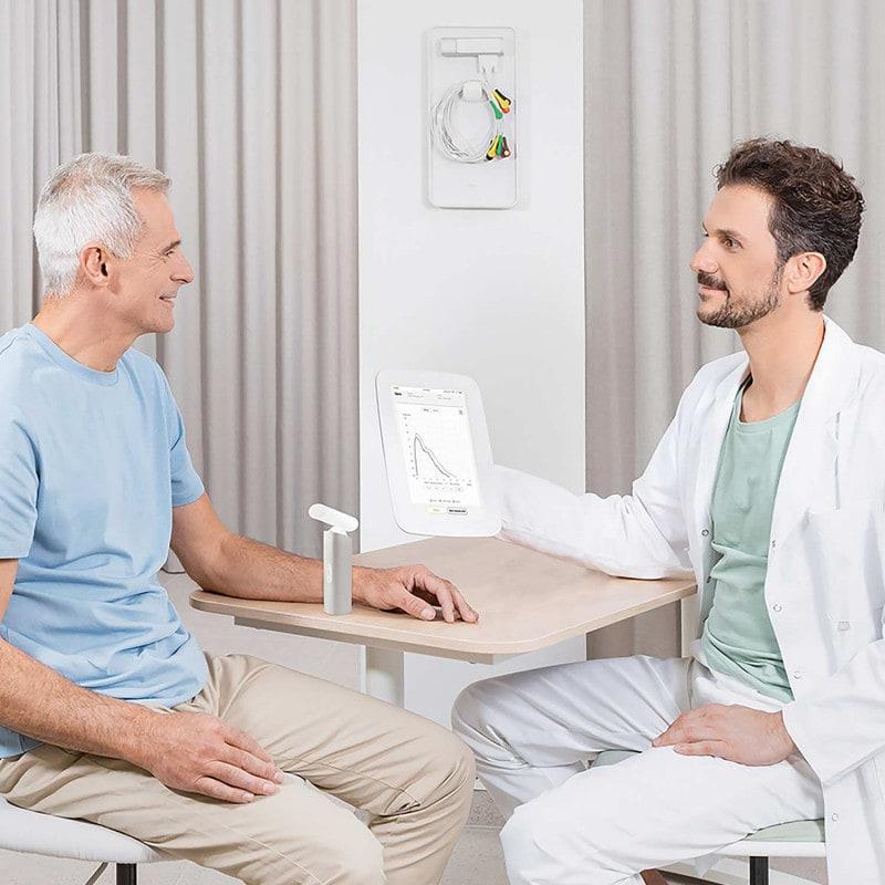 Zur Durchführung von Lungenfunktionsprüfungen bei Erwachsenen