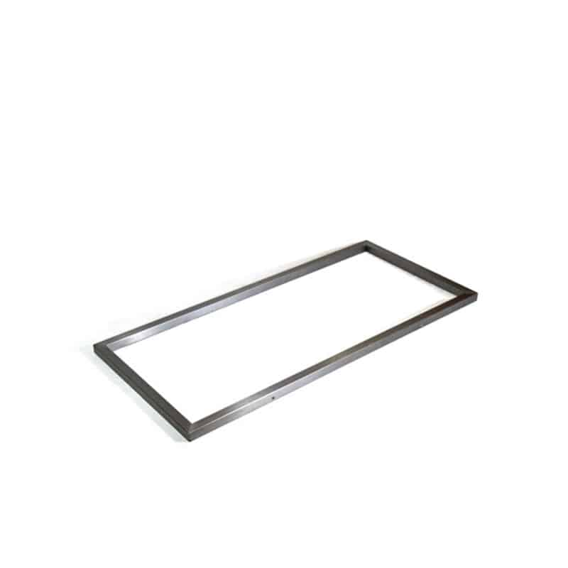 Frame for polyethylene boxes