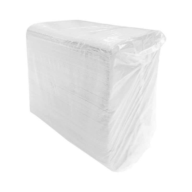 Absorbent and impermeable to moisture, 500 pieces per pack
