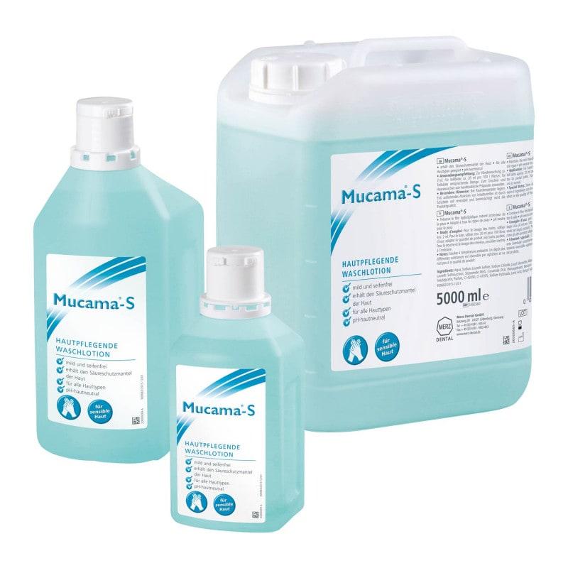 Mucama-S, loción de lavado