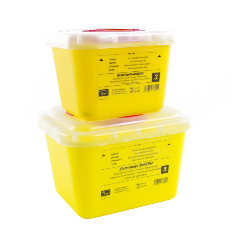 Large Sharps Container