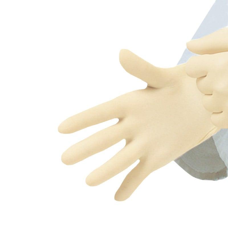 Reißfeste Handschuhe sind leicht anzuziehen durch Innenbeschichtung