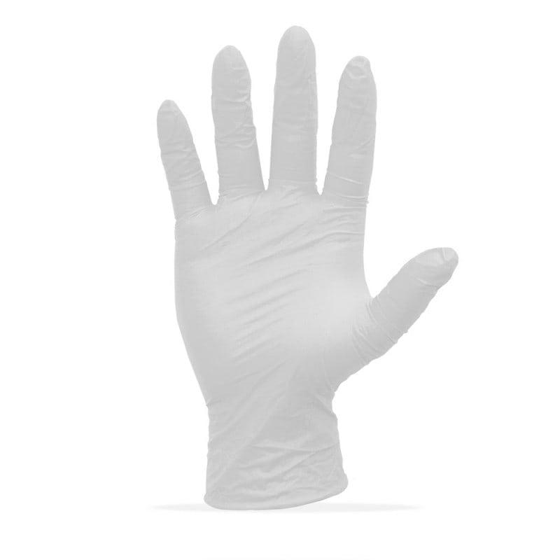 Utilisation par exemple comme gants d'examen ou gants de protection