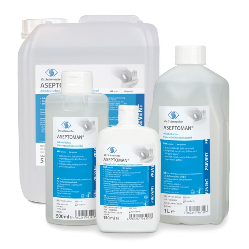 Aseptoman hand disinfectant