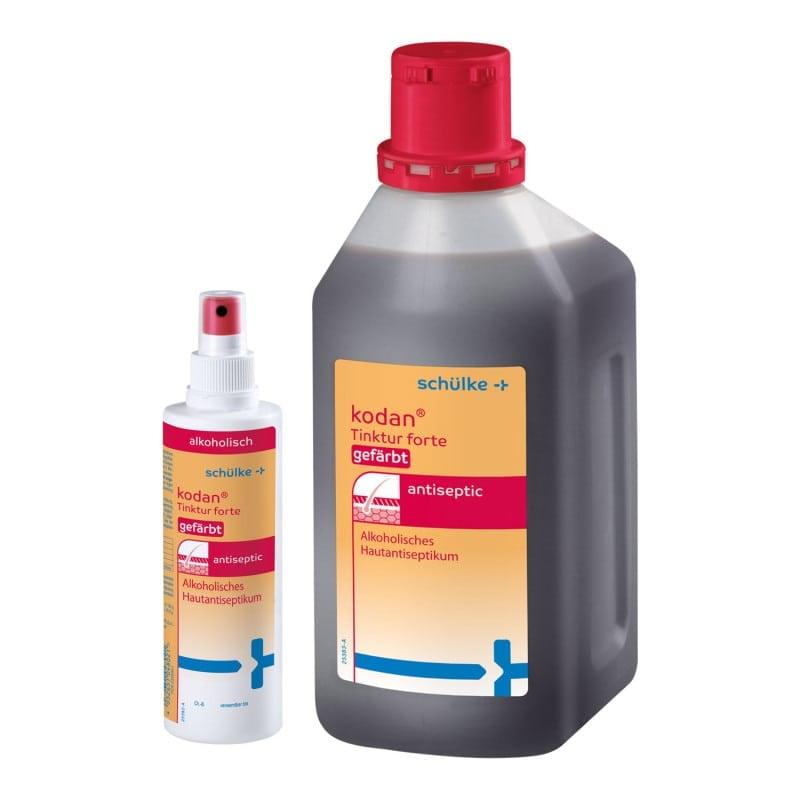 Desinfektionsmittel in verschiedenen Gebindegrößen erhältlich