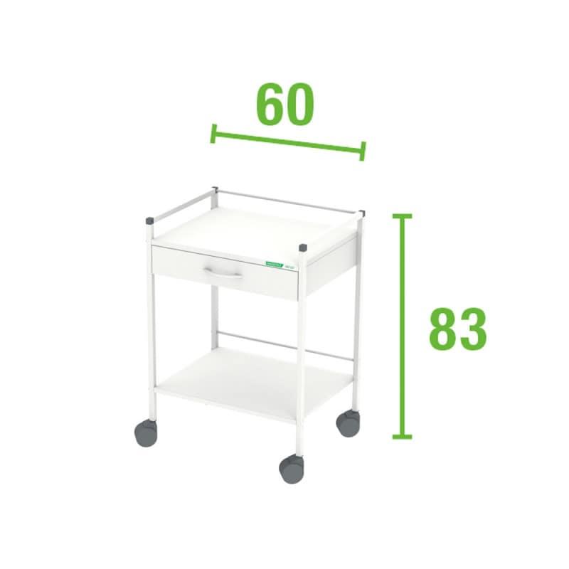 Multipurpose Trolley, 83 x 60 cm (H x W)