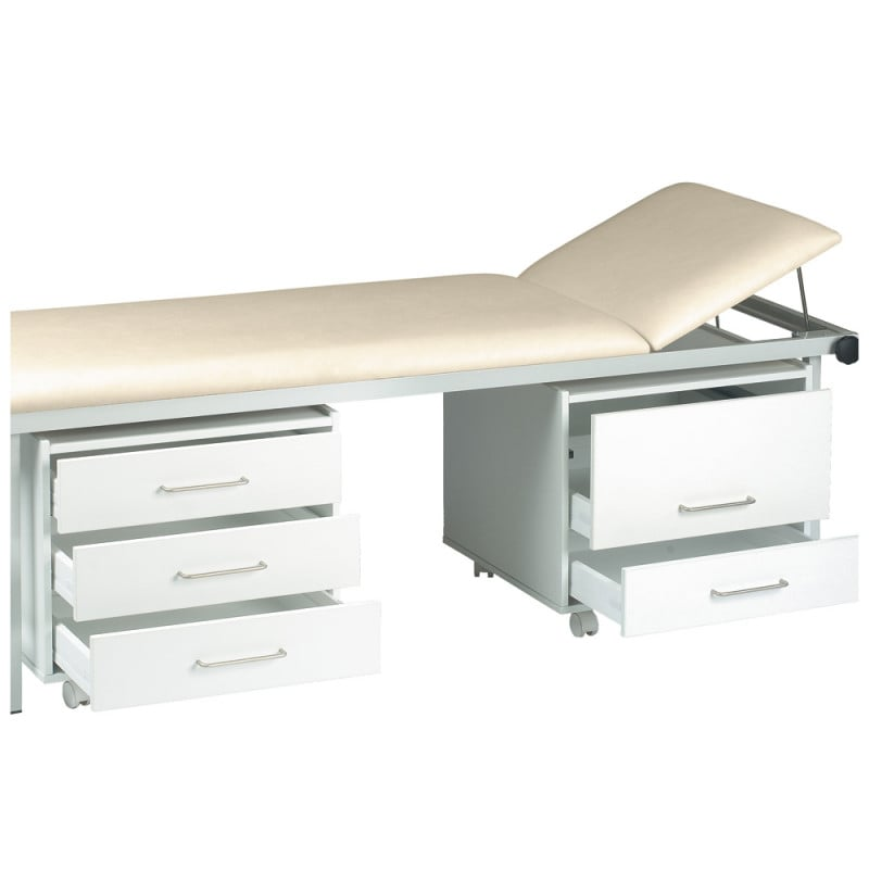 Examination table-lower storage element , very wide