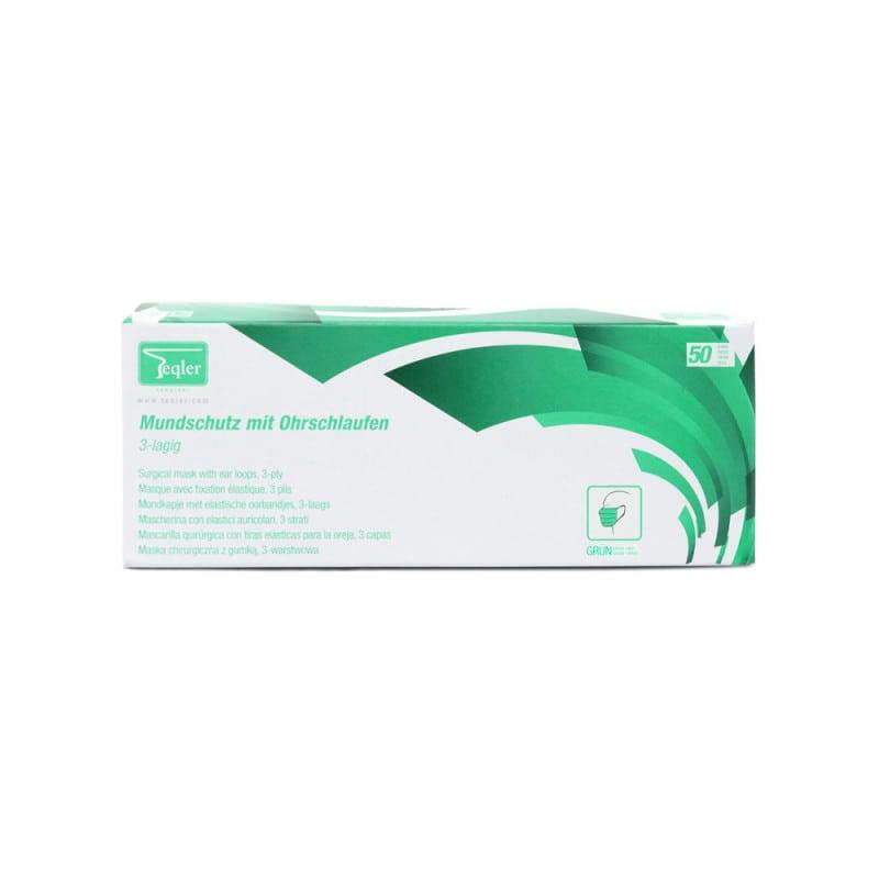 Maska dentystyczna, 3-warstwowa