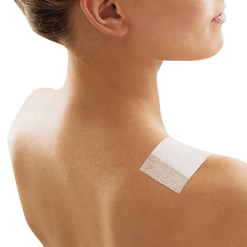 Anschmiegsam, elastisch und auch für viel bewegte Körperstellen geeignet