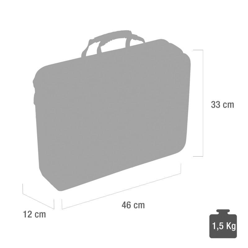 Dokterskoffer, 46x12x33 cm