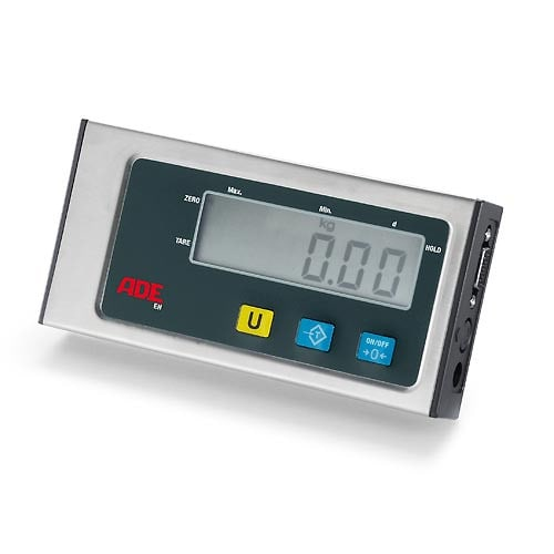 Flexibel montierbares, großes LCD-Display (17 mm hoch)