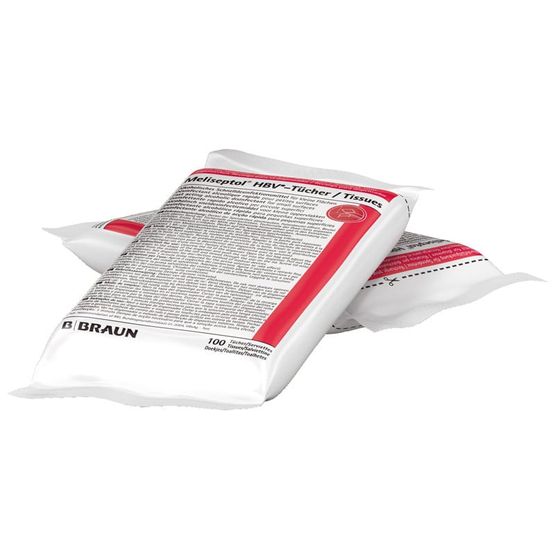 Meliseptol Disinfectant Wipes Refill Bag