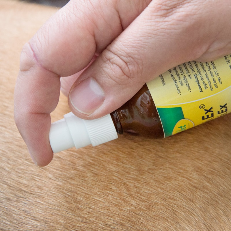 Das Repellent gegen Zecken ist hochwirksam und schützt lange anhaltend
