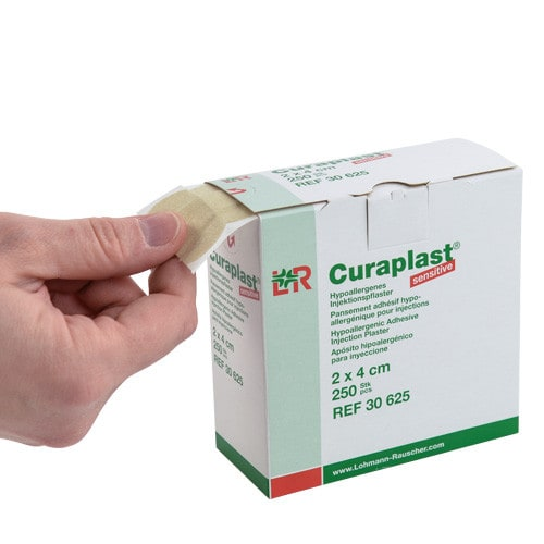 Curaplast sensitive - Pansements d'injection